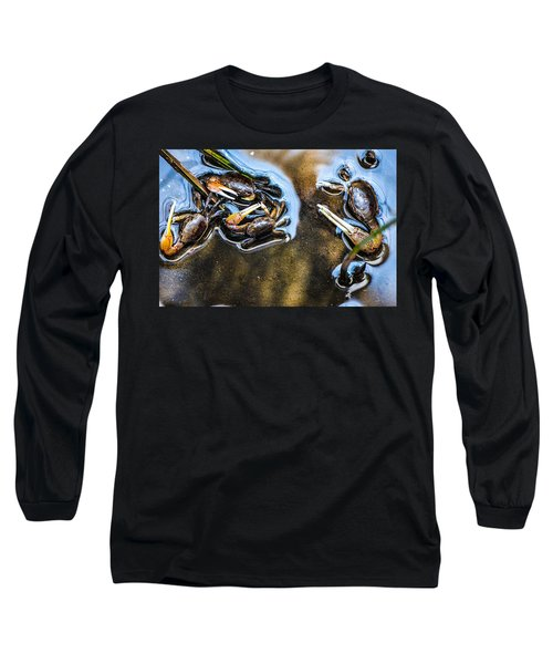 Low Tide Breakfast  Long Sleeve T-Shirt