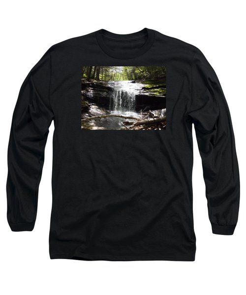 Lower Chapel Brook Falls Long Sleeve T-Shirt