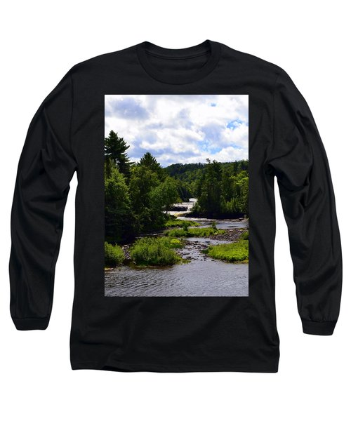 Lower Tahquamenon Falls Ll Long Sleeve T-Shirt