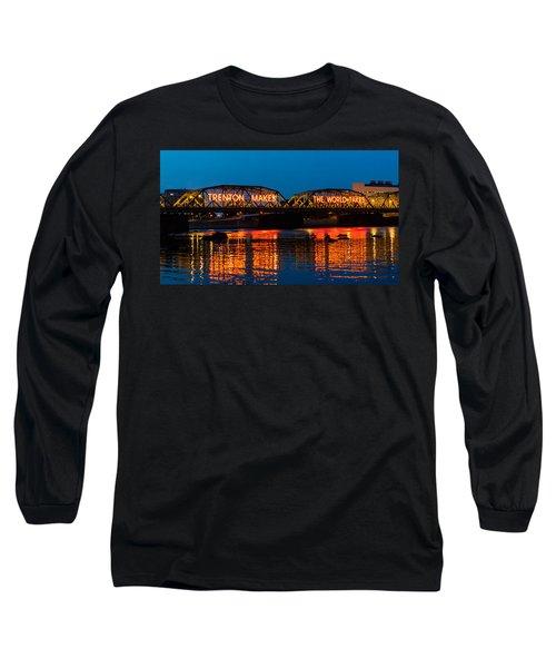 Lower Trenton Bridge Long Sleeve T-Shirt