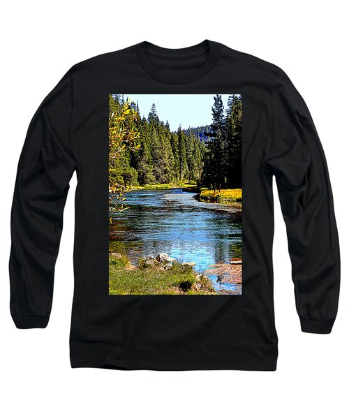 Lower Truckee River Long Sleeve T-Shirt