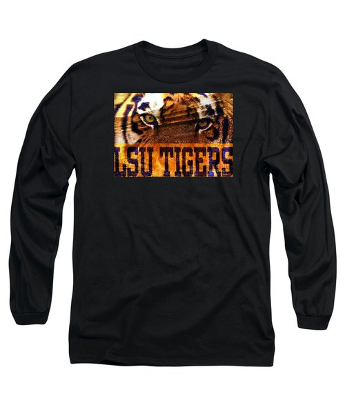 Lsu - Death Valley Long Sleeve T-Shirt by Elizabeth McTaggart