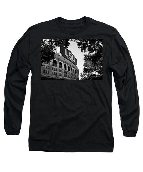 Lsu Through The Oaks Long Sleeve T-Shirt by Scott Pellegrin
