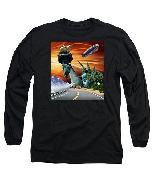 Lucky Star Long Sleeve T-Shirt by Scott Ross