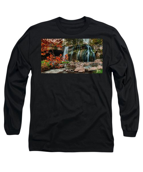 Ludlowville Falls Long Sleeve T-Shirt