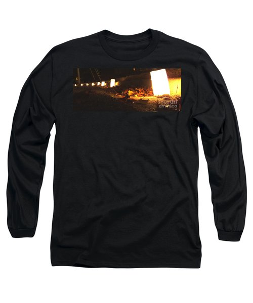Long Sleeve T-Shirt featuring the photograph Luminaries by Andrea Anderegg