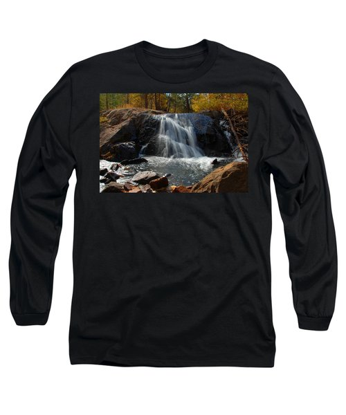 Long Sleeve T-Shirt featuring the photograph Lundy Creek Cascades by Lynn Bauer