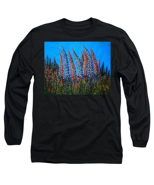 Lupins - Study No. 1 Long Sleeve T-Shirt