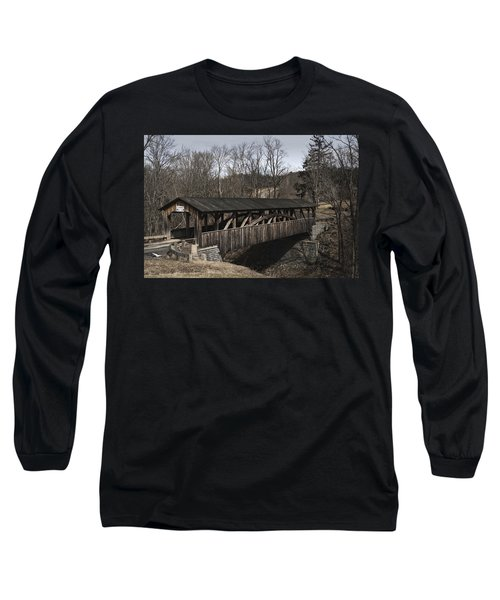 Luther's Mill Covered Bridge Long Sleeve T-Shirt