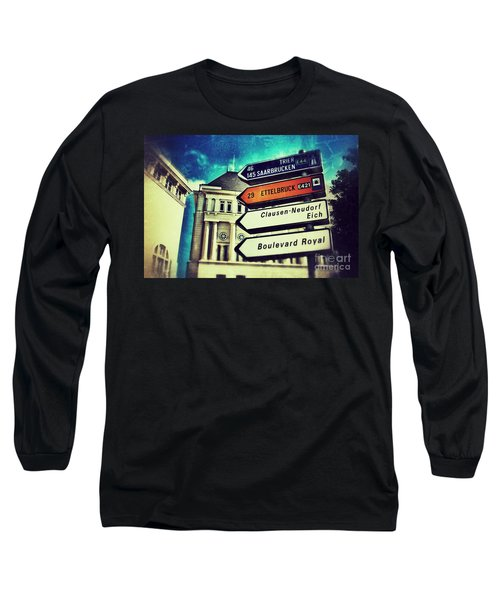 Luxembourg City Long Sleeve T-Shirt