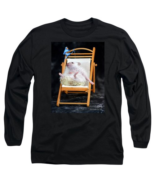Lyla Sunbathing Long Sleeve T-Shirt