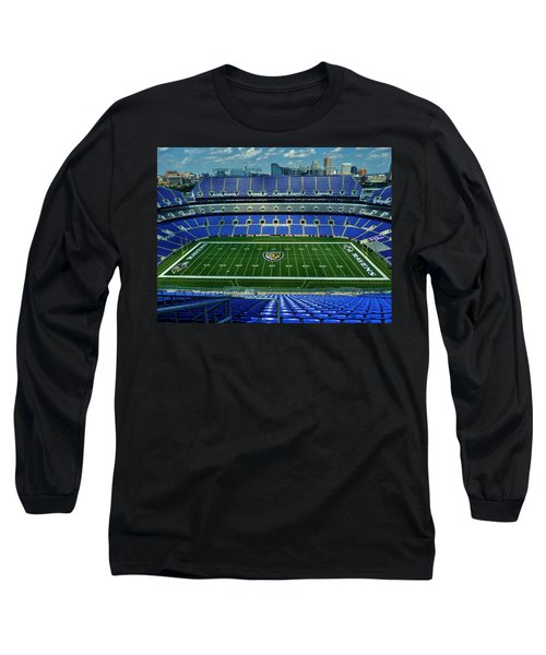 M And T Bank Stadium Long Sleeve T-Shirt by Robert Geary