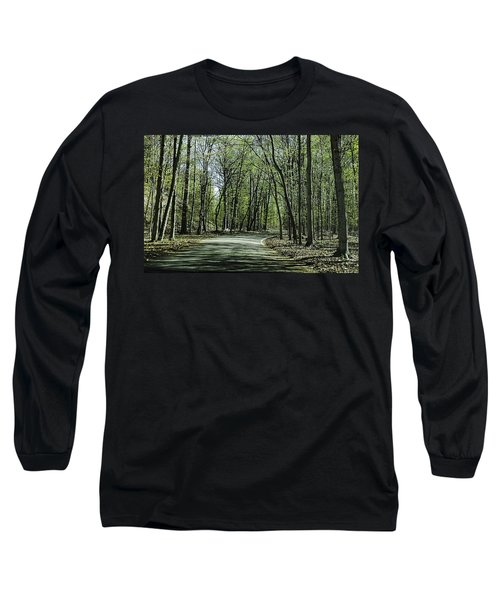 M119 Tunnel Of Trees Michigan Long Sleeve T-Shirt