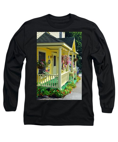 Mackinac Island Americana Long Sleeve T-Shirt