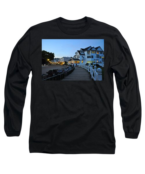 Mackinac Island At Dusk Long Sleeve T-Shirt
