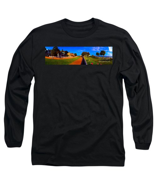 Mackinac Island Flower Garden  Long Sleeve T-Shirt