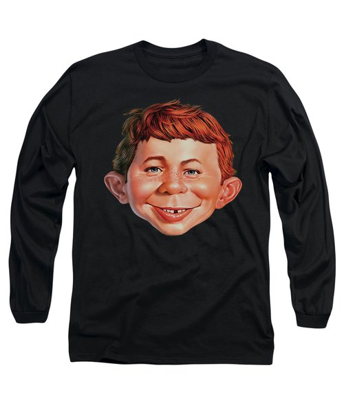 Mad - Alfred Head Long Sleeve T-Shirt