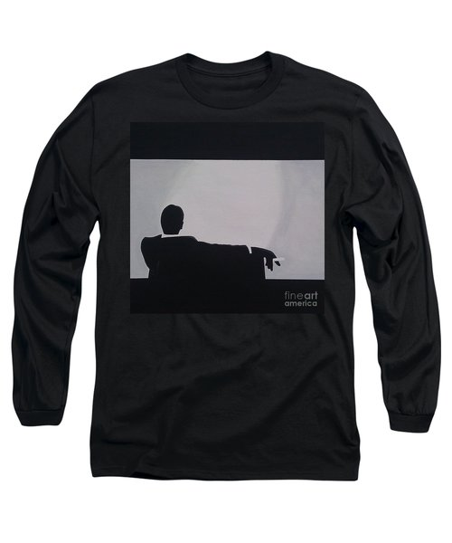 Mad Men In Silhouette Long Sleeve T-Shirt