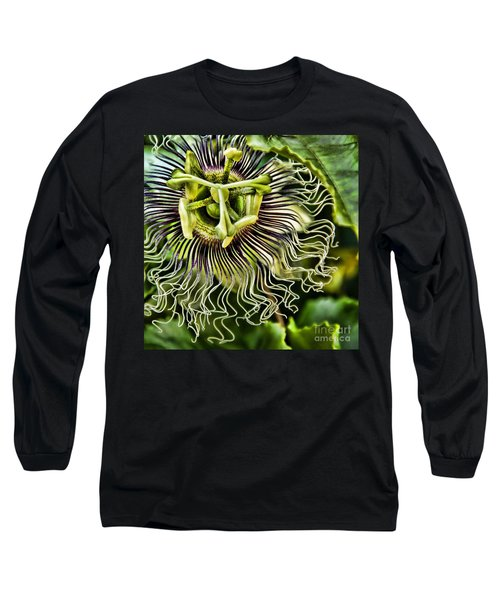 Mad Passion Long Sleeve T-Shirt by Peggy Hughes