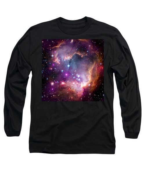 Magellanic Cloud 3 Long Sleeve T-Shirt by Jennifer Rondinelli Reilly - Fine Art Photography