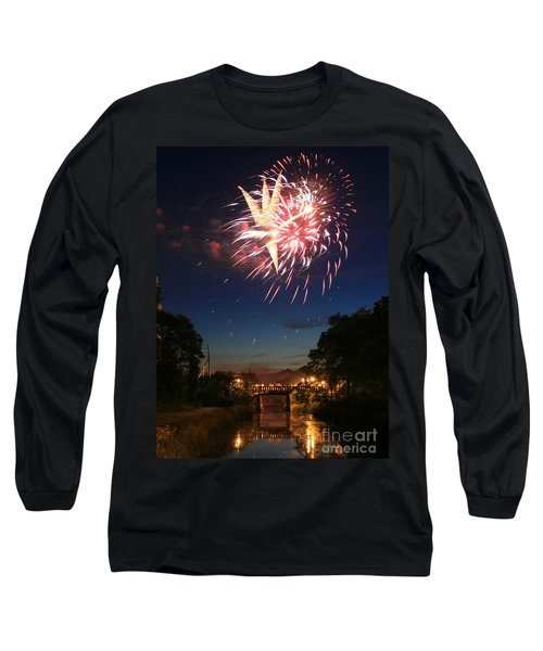 Long Sleeve T-Shirt featuring the photograph Magic In The Sky by Paula Guttilla