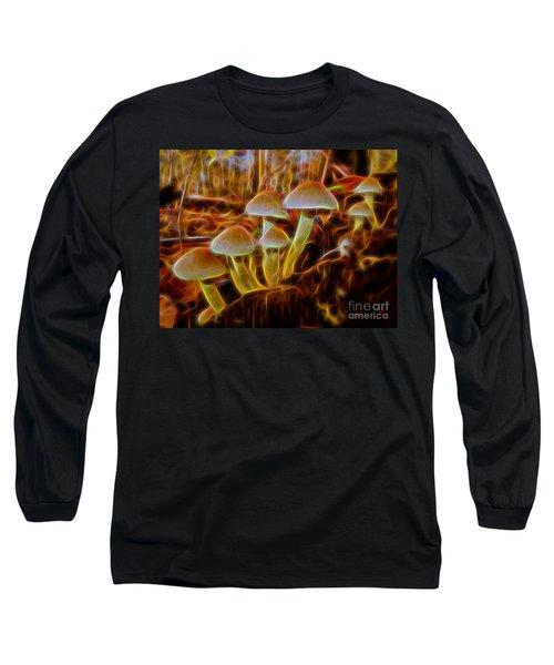 Magic Mushroom-3 Long Sleeve T-Shirt