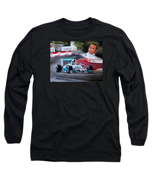 Magic Of Monaco-lewis Hamilton Long Sleeve T-Shirt