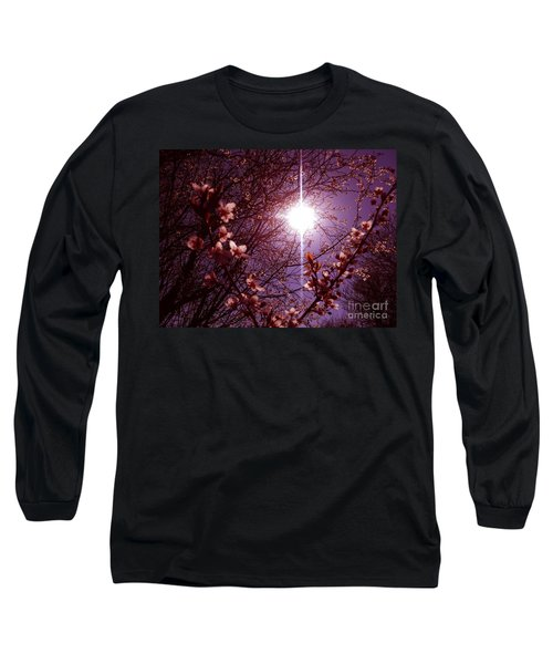 Magical Blossoms Long Sleeve T-Shirt by Vicki Spindler