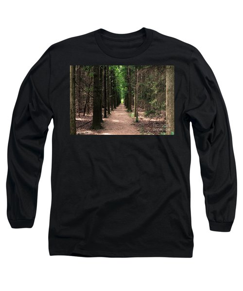 Magical Path Long Sleeve T-Shirt by Bruce Patrick Smith
