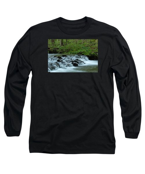 Magical River Long Sleeve T-Shirt by Julie Andel