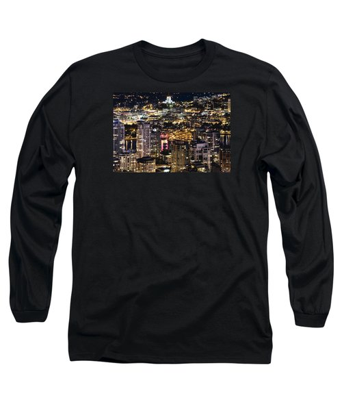 Long Sleeve T-Shirt featuring the photograph Magical Yaletown Harbor Mdxlix by Amyn Nasser