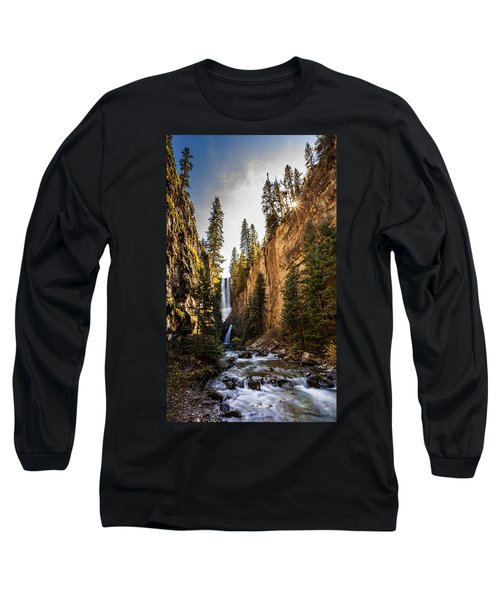 Magnificent  Mystic Falls  Long Sleeve T-Shirt by Steven Reed