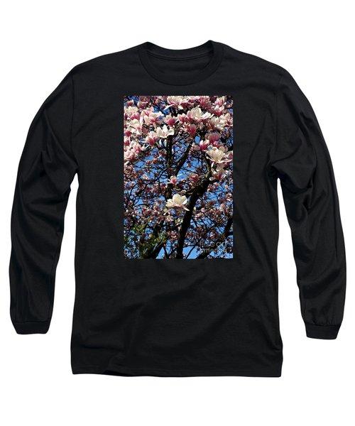 Magnolias Long Sleeve T-Shirt