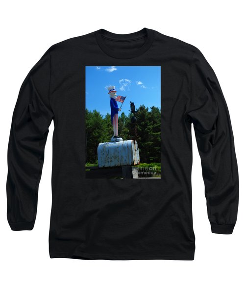 Mail For Uncle Sam Long Sleeve T-Shirt