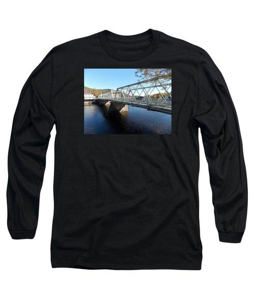 Main Street Bridge Shelbourne Falls  Long Sleeve T-Shirt
