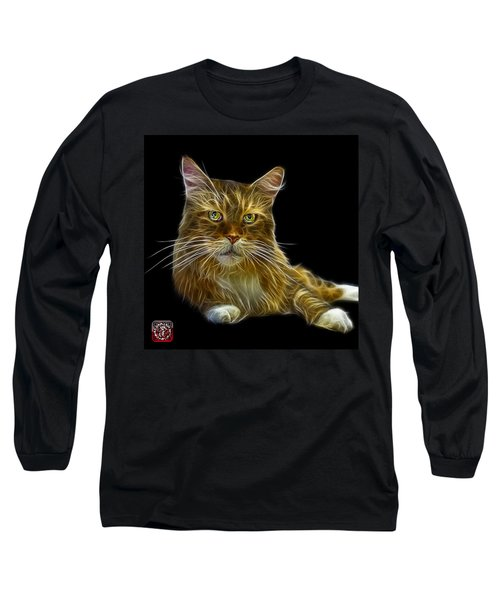 Maine Coon Cat - 3926 - Bb Long Sleeve T-Shirt