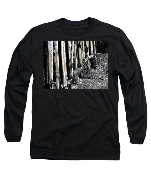 Maine Pier Long Sleeve T-Shirt