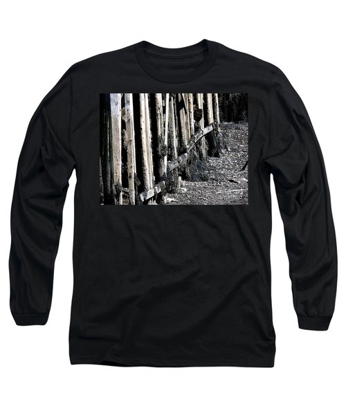 Maine Pier Long Sleeve T-Shirt