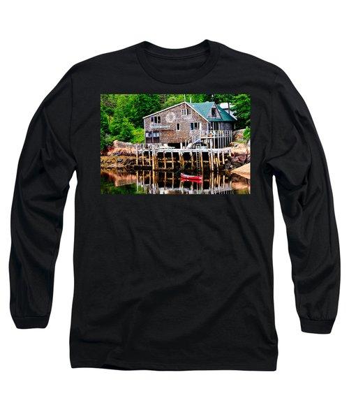 Maine Scene Long Sleeve T-Shirt