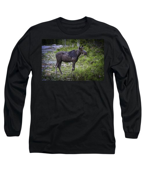 Mainely Moose Long Sleeve T-Shirt
