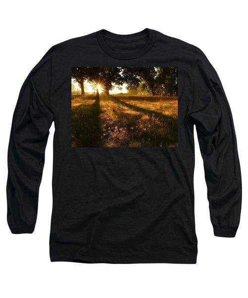 Majestic Oaks Sunrise Long Sleeve T-Shirt