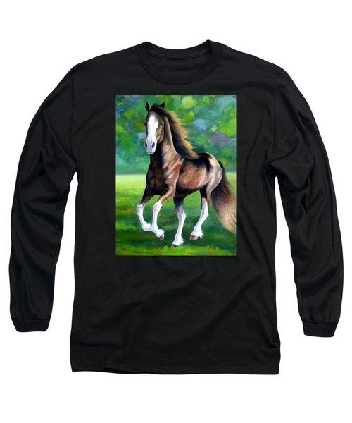 Majestic Long Sleeve T-Shirt by Vivien Rhyan