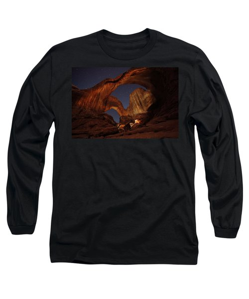 Long Sleeve T-Shirt featuring the photograph Gimme Another Double by David Andersen
