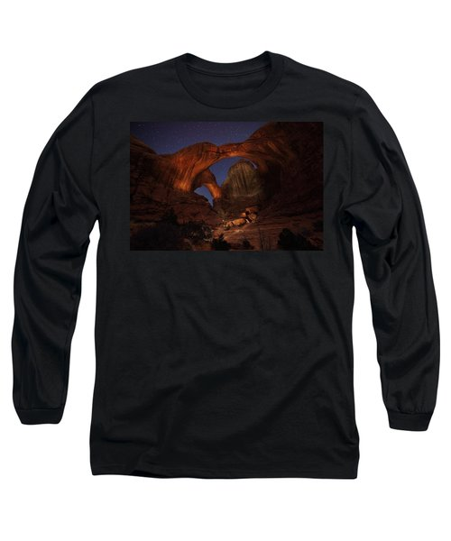 Long Sleeve T-Shirt featuring the photograph Make It A Double by David Andersen