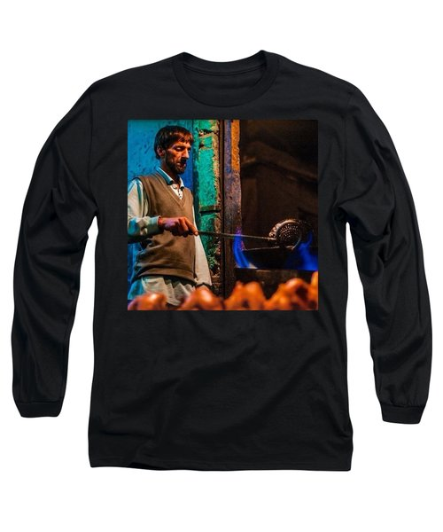 Making Chicken In The Market Long Sleeve T-Shirt