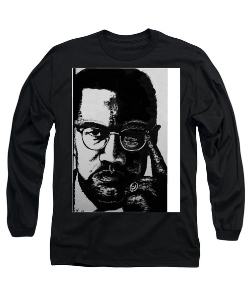 Malcom X Long Sleeve T-Shirt