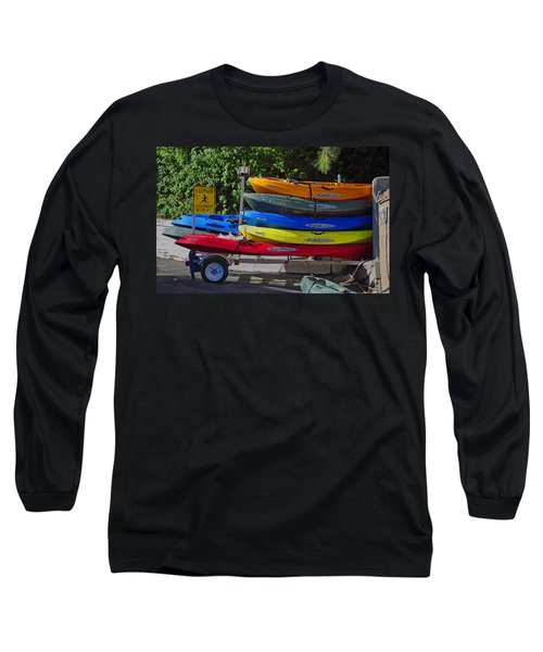 Malibu Kayaks Long Sleeve T-Shirt