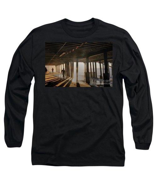 Malibu Pylon Sunrise Long Sleeve T-Shirt