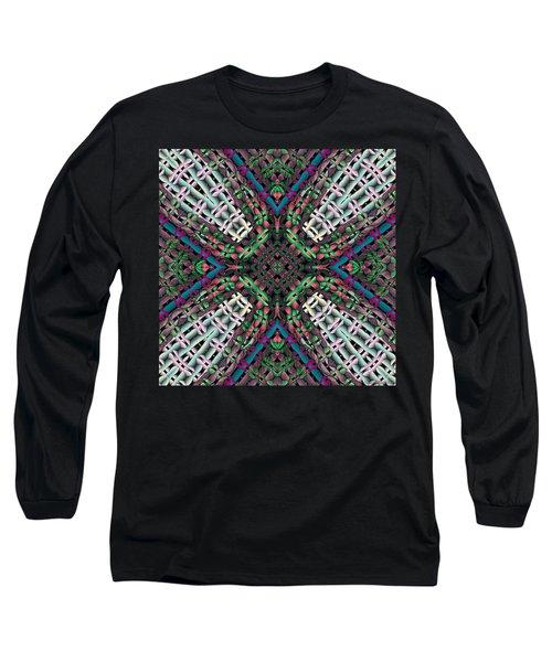 Long Sleeve T-Shirt featuring the digital art Mandala 32 by Terry Reynoldson