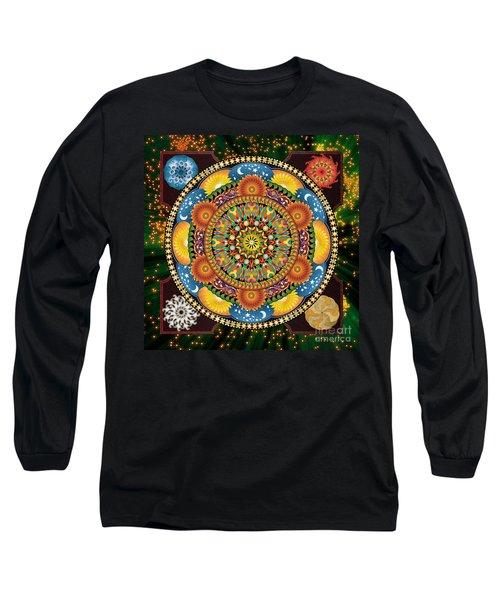 Mandala Elements Long Sleeve T-Shirt